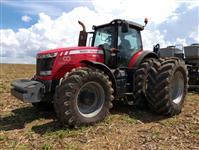 Trator Massey Ferguson 8670 4x4 ano 12