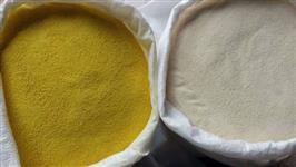 Farinha de mandioca branca torrada amarela sacas 50 kls de otima qualidade