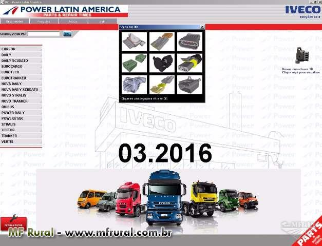 IVECO POWER LATIN AMERICA - CATALOGO DE PEÇAS E SERVIÇOS