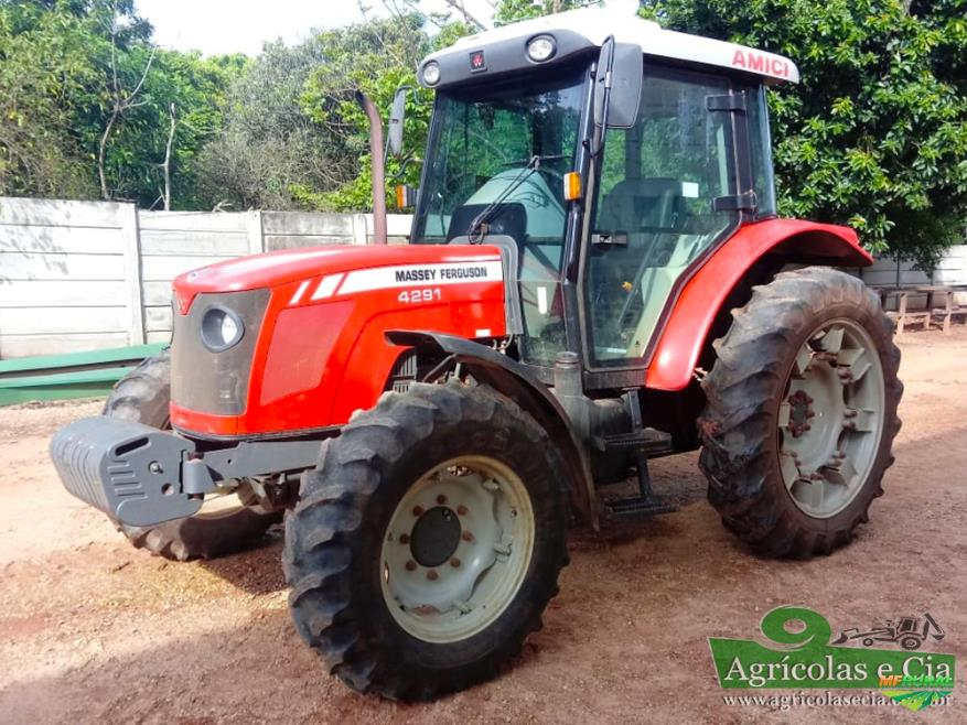 Trator Massey Ferguson 4291 4x4 ano 13