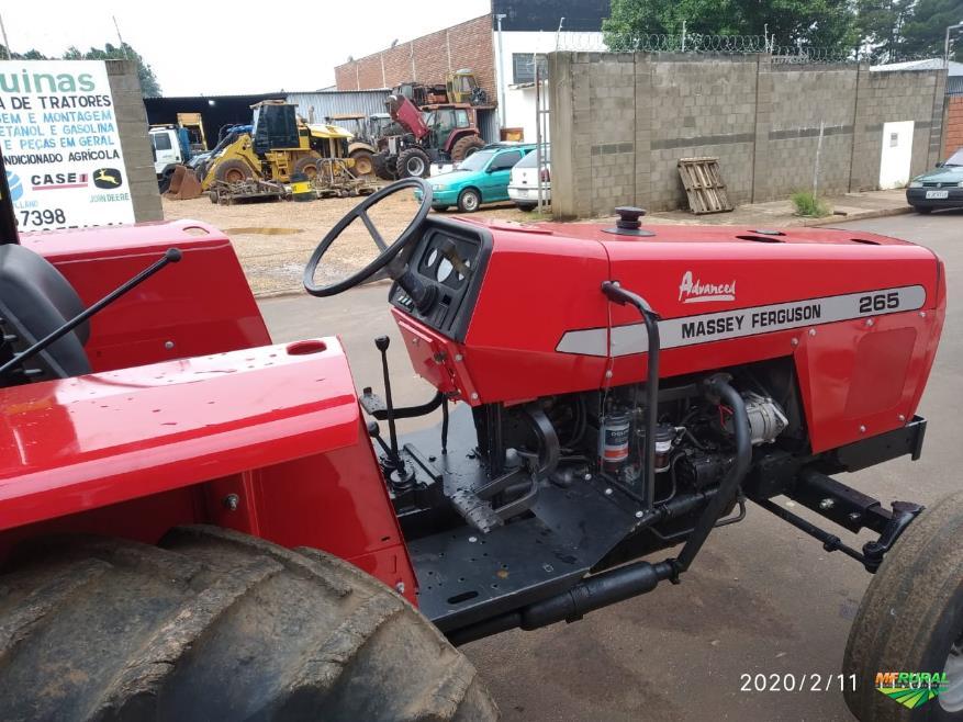 Trator Massey Ferguson 265 4x2 ano 06