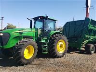 Trator John Deere 7205 4x4 ano 20