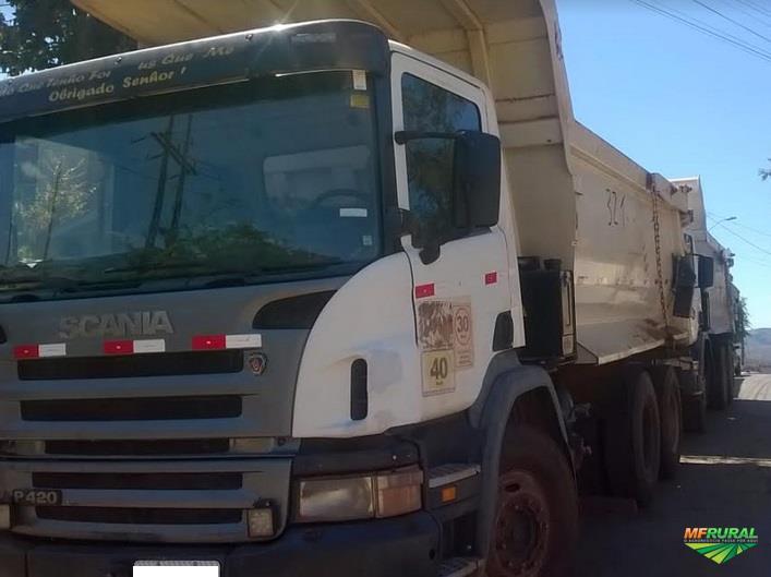 Caminhão Scania P420 ano 11