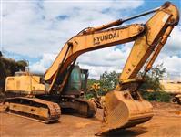 ESCAVADEIRA HYUNDAI, MODELO ROBEX 320LC-7, ANO DE FABRICAÇÃO 2011, PINTURA ORIGINAL, COM 13.992HS TR