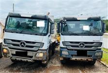 Caminhão Mercedes Benz (MB)  4844 Basculante ano 15