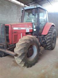 Trator Massey Ferguson 660 Advanced 4x4 ano 03