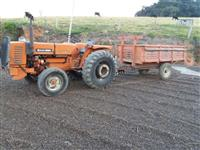 Trator Agrale 4300 4x2 ano 84