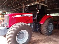 Trator Massey Ferguson 7180 4x4 ano 08
