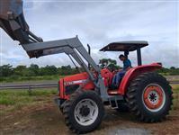 Trator Massey Ferguson 5275 4x4 ano 10