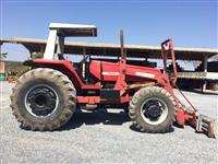 Trator Massey Ferguson 650 Advanced 4x4 ano 07