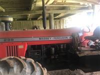 Trator Massey Ferguson 299 4x2 ano 10