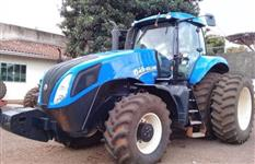 Trator New Holland T8.295 4x4 ano 12