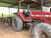 Trator Massey Ferguson 630 4x4 ano 92
