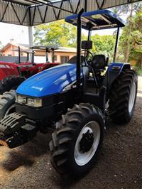 Trator New Holland TL 75 E 4x4 ano 13