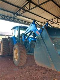 Trator New Holland TM 165 4x4 ano 03