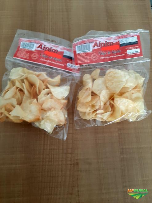 Chips de Aipim - Chips de Mandioca - Chips de Macaxeira