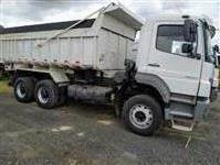 Caminhão Mercedes Benz (MB) 2831 Basculante ano 10