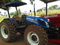 Trator New Holland TL 85 E 4x4 ano 18