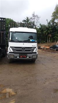 Caminhão Mercedes Benz (MB) 2831 Plataforma ano 12