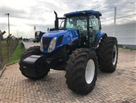 Trator New Holland T7.245 4x4 ano 14