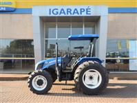 Trator New Holland TL 75 E 4x2 ano 12