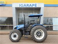 Trator New Holland TL 75 E 4x4 ano 16