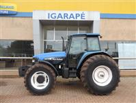 Trator New Holland TM 165 4x4 ano 02