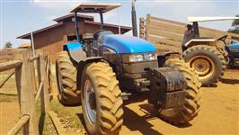 Trator New Holland TS 120 4x4 ano 03